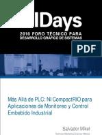 Mas Alla de Plc Ni Compactrio Para Aplicaciones de Monitoreo y Control Embebido Industrial