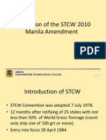 12. Implication of STCW 2010 MLC