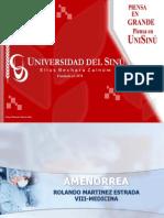 Amenorrea Primaria y Secundaria y Fisiologia (2)