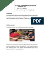Contoh Laporan Kursus Kejurulatihan Badminton Kebangsaan