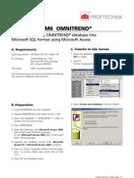 Tn 6 Omnitrend SQL