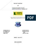 hdfc final report....doc