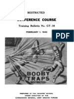 GT-16 Booby Traps 1943