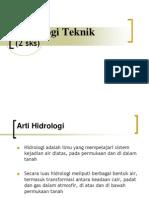 Hidrologi Teknik