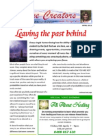 Divine Creators Newsletter - April 2013