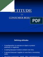 Attitude in Consumer Behavior