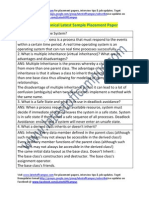 iSOFT Sample Technical Placement Paper