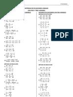 Taller Ecuaciones 2 y 3 Variables