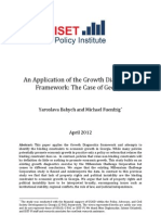 An Application of the Growth Diagnostics