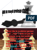 șah în relația profesor-elev