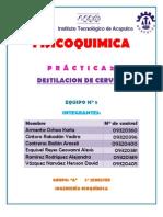 Practica 2 .- Destilacion Simple
