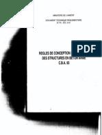 C 2-4.1 Regles de Conception Et de Calcul Des Structures en Beton Arme C.B.a.93