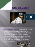 Manny Ramirez-Major League Baseball Slugger