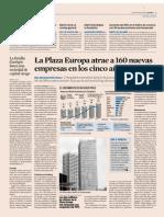 Diario Expansión _ La Plaza Europa atrae a 160 nuevas.