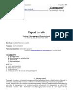 RATIV TRaining Management Organizational INJ