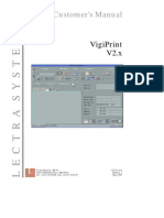 VigiPrint V2 4 Customer Manual English