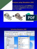Stress Analysis SW Simulation