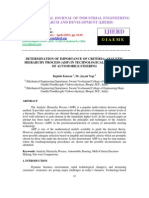 Determination of Importance of Criteria Analytic Hierarchy Process _ahp