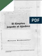 101 - Benbenaste N - El Empleo Jugado Al Ajedrez