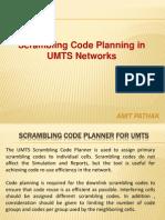 57065932 UMTS Scrambling Code Planning