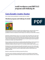 Program Anti Bullying