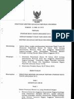 Standar Biaya Umum TA 2013