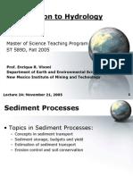 HydrogeologyLecture 24