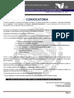 ConvocatoriaCursoEspecialDeTitulacionISC