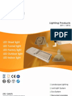 DABICHI Catalog of LED Lamps and Panel