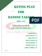 Marketing plan for Yakult