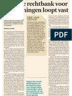 De Tijd 28/03/'13 - Vlaamse rechtbank voor vergunningen loopt vast