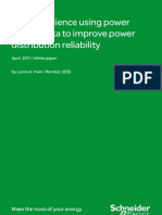 Real Experience Using Power Quality Data to Improve Power Distribution Reliability