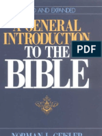 A General Introduction to the BIBLE