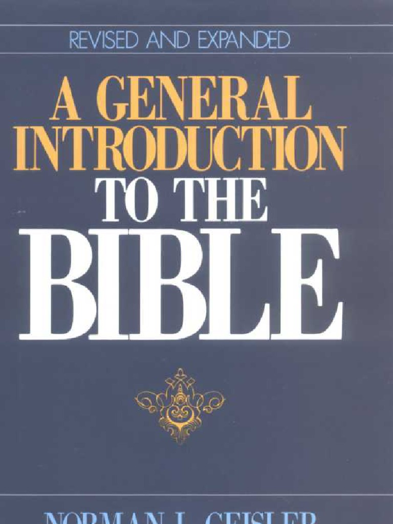A general introduction to the bible old testament bible fandeluxe Image collections