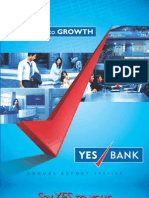 Yes Bank Annual Report 2011-12 New
