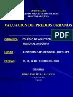 Curso Taller Valuacion 2008