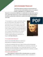 5. Fisa Sistemul Montessori