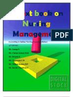 Nursing Management full m.sc. 2nd yr notes