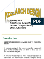 3. Research Designs