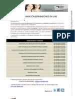 Programación Formacion on line CESI IBERIA