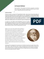 Biografía de Alfred Russel Wallace