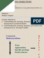 Sengketa Medik Dan Konflik Etikolegal