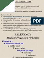 Relevansi Dan Dinamika Pengembangan Etik Kedokteran