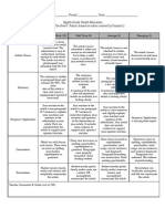 health in the news rubric