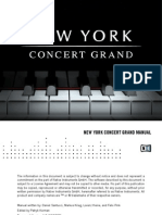 New York Concert Grand Manual