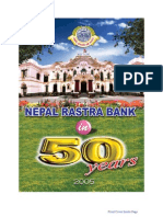 Golden Jubilee Publications--Nepal Rastra Bank in Fifty Years Part I -Resource Management and Organizational Development