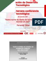Nueva Norma Diseno Hormigon Nch430 Of2007-Fernando Yanez