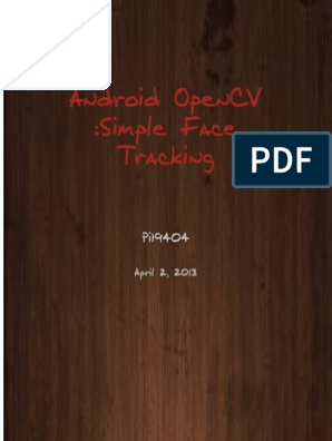 Android OpenCV Simple Face Tracker   Java (Programming Language