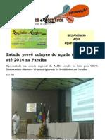 Estudo prevê colapso do açude de Boqueirão até 2014 na Paraíba
