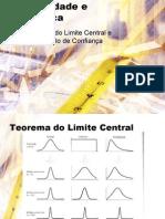 EST. (III) ~ [SLIDES-02] Teorema Do Limite Central e Intervalos de Confianca (Probabilidade e Estatistica)